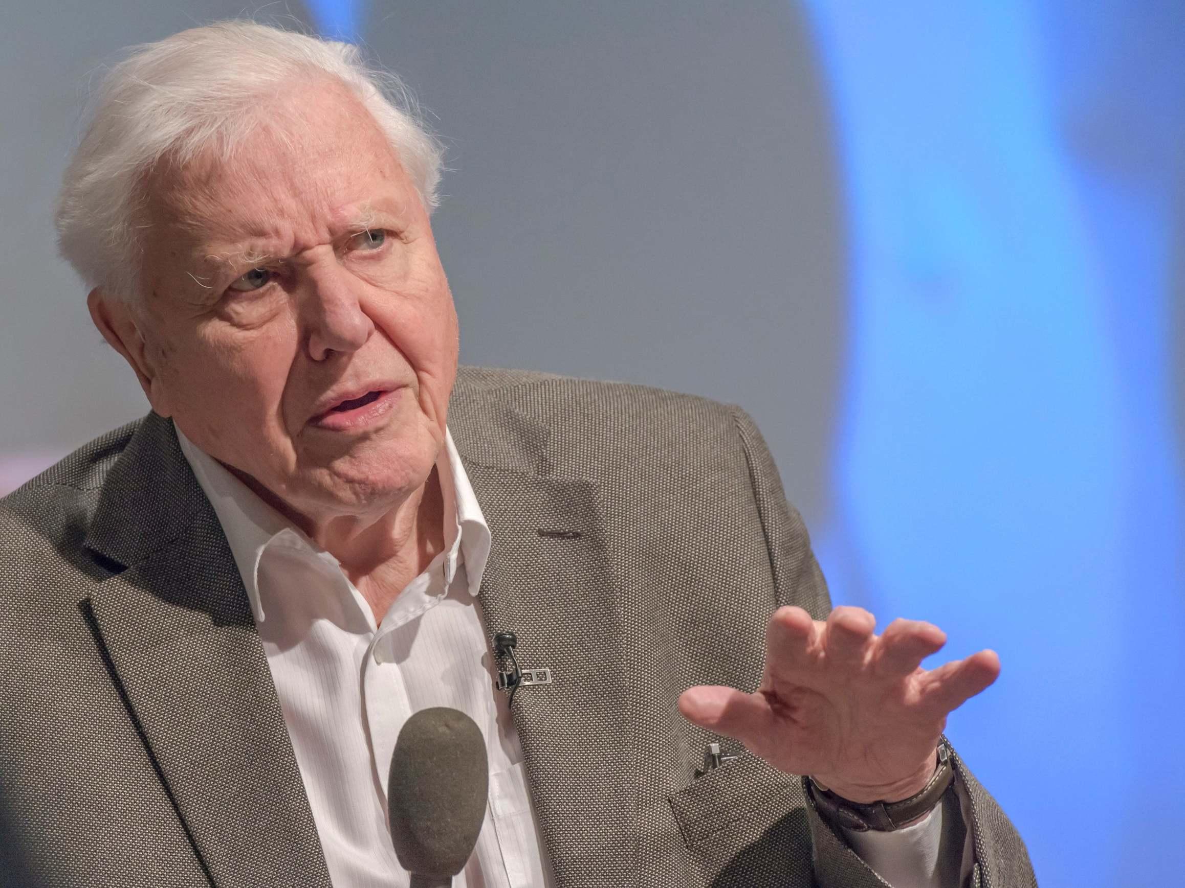 David Attenborough says fixed-term parliaments could mean short-sigh…