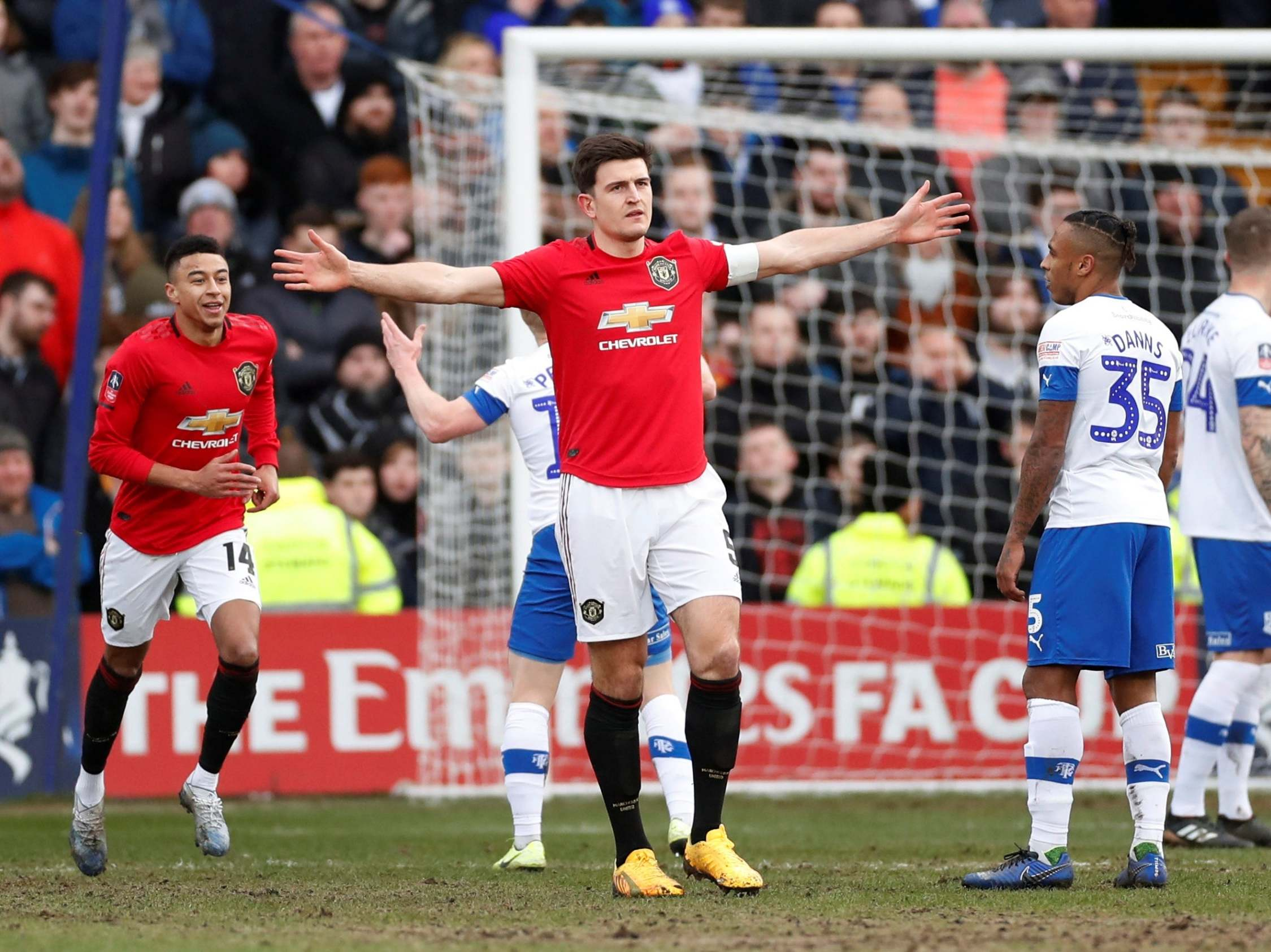 Tranmere vs Manchester United: Player ratings as Harry Maguire delivers captain's performance