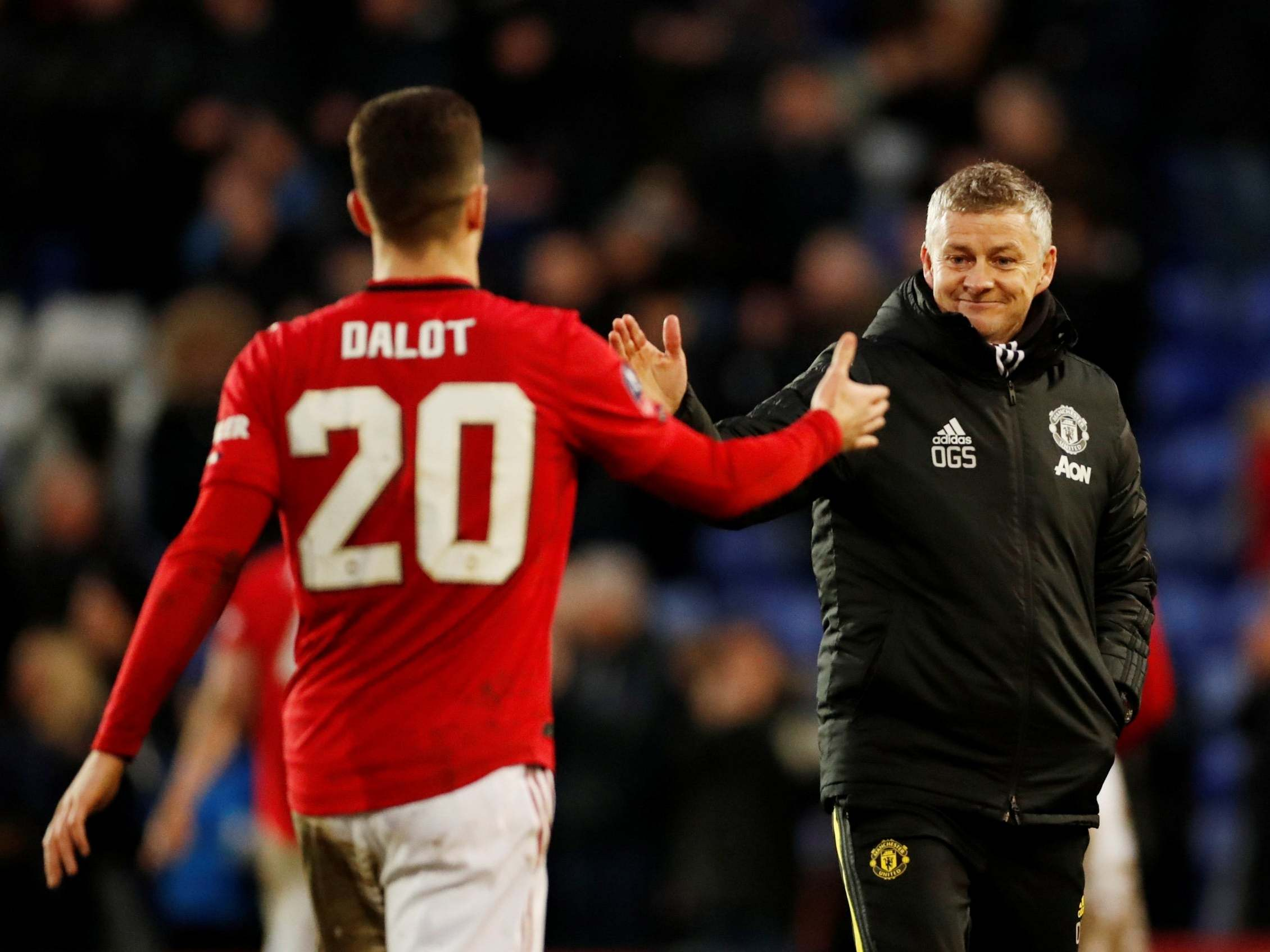 Ole Gunnar Solskjaer and Manchester United come out fighting at end of a difficult week
