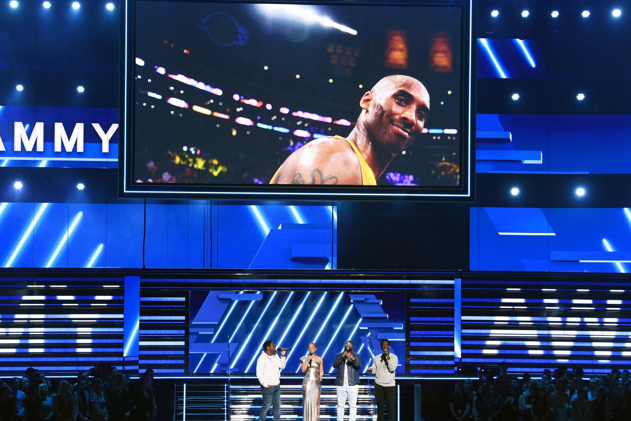 Grammys 2020: Alicia Keys and Boyz II Men pay powerful tribute to Kobe Bryant