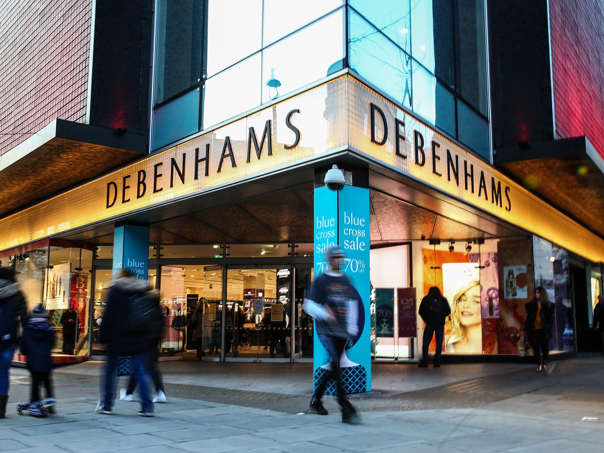 Debenhams to put administrators on standby amid 'extraordinary circumstances' of coronavirus shutdown