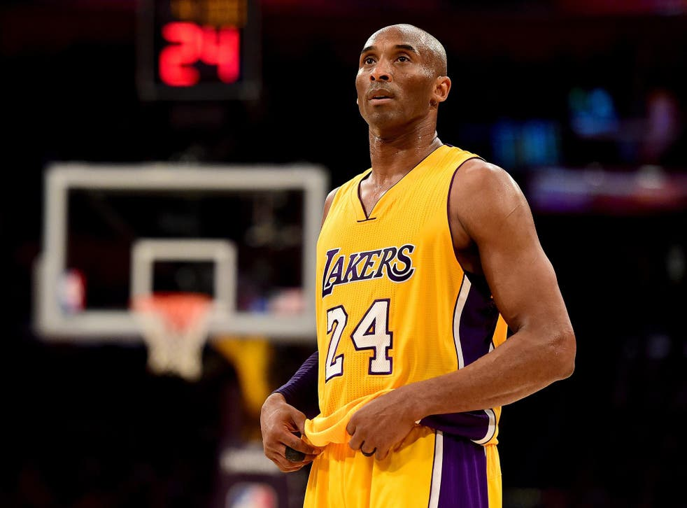 Bryant played with the LA Lakers for 20 years