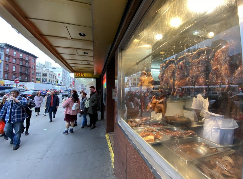 If It Happens It Happens In New York City S Chinatown It S Business As Usual Despite Coronavirus Fears The Independent The Independent