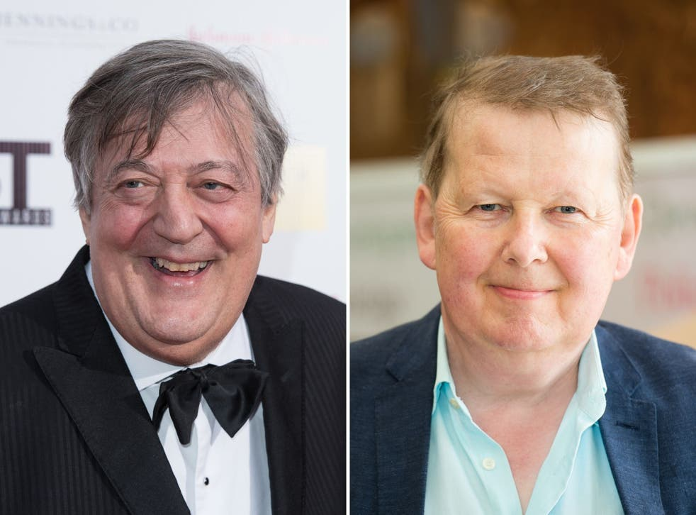 Stephen Fry (left) and Bill Turnbull have both gone public about their prostate cancer diagnoses