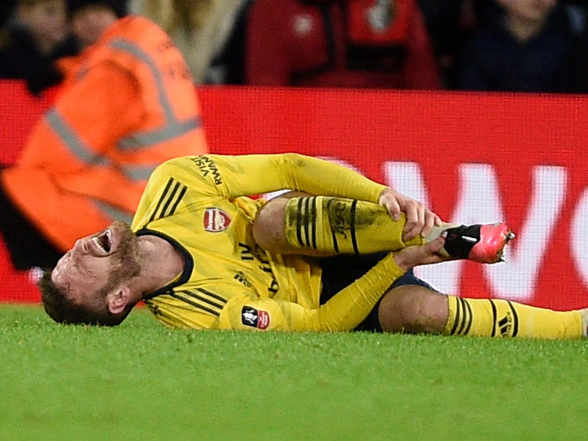 Arsenal manager Mikel Arteta fearing 'not good news' over Shkodran Mustafi injury