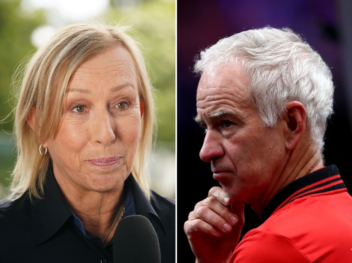 Australian Open say McEnroe and Navratilova 'breached protocols' with protest against homophobic comments