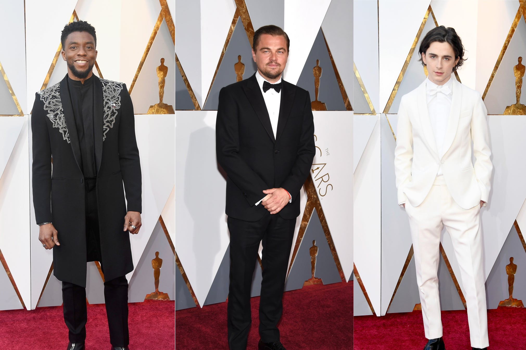 The best-dressed men ever at the Oscars