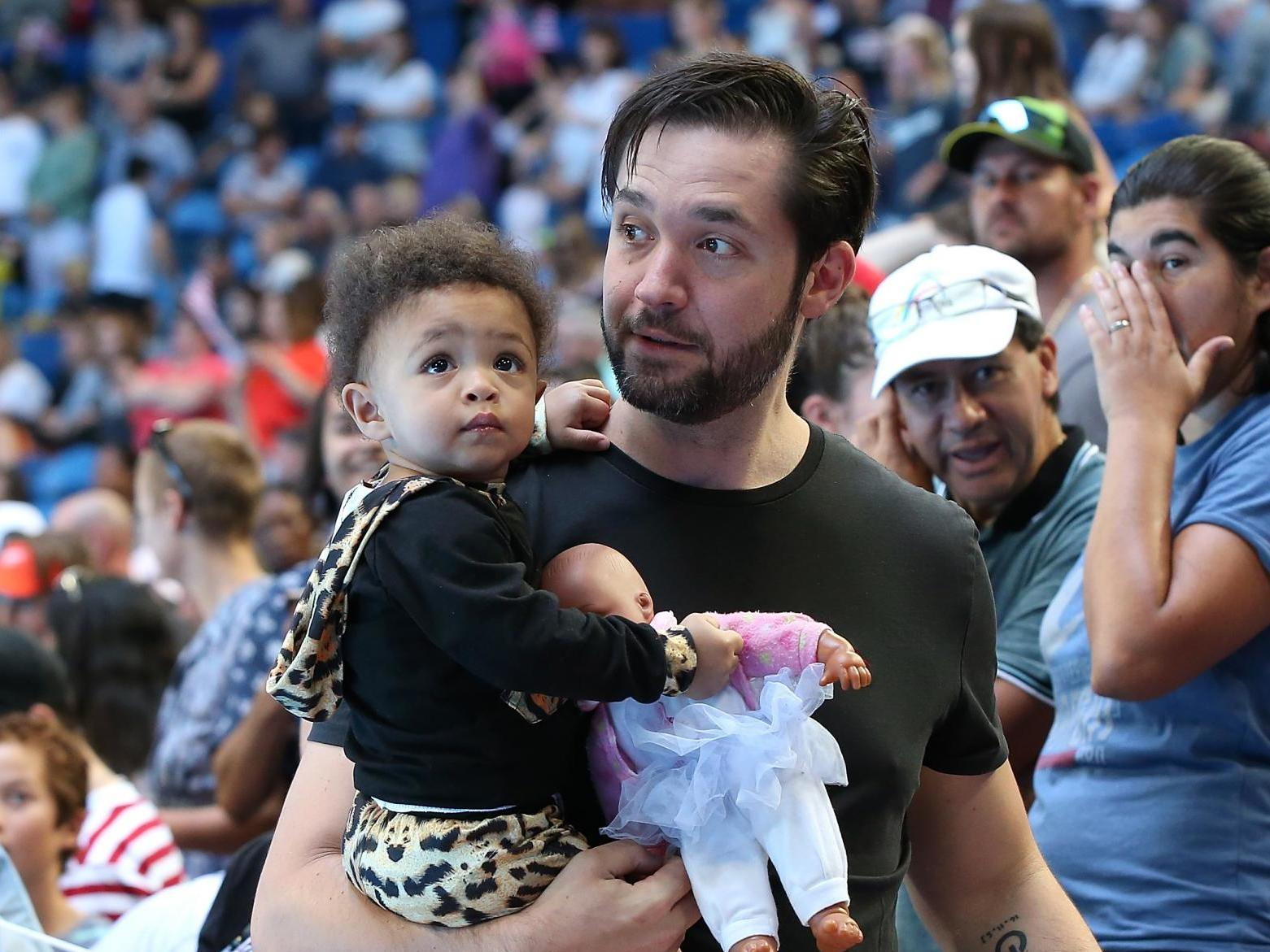 Alexis Ohanian says period after Serena Williams gave birth was 'tra…