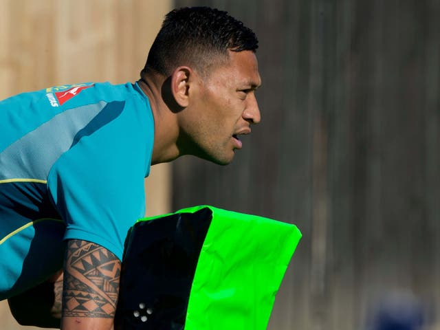Israel Folau is facing a backlash upon his arrival in the Super League