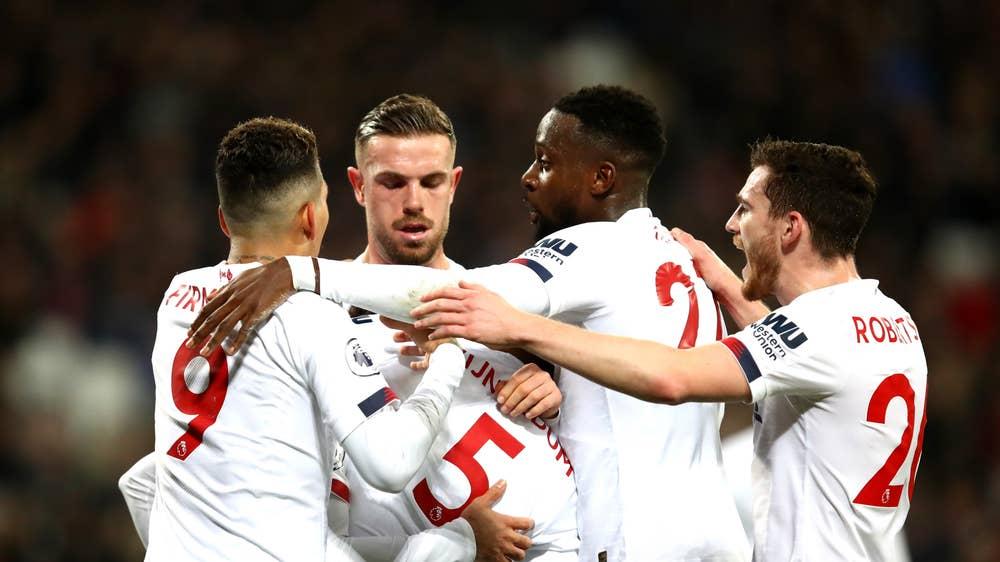 West Ham vs Liverpool: Player ratings