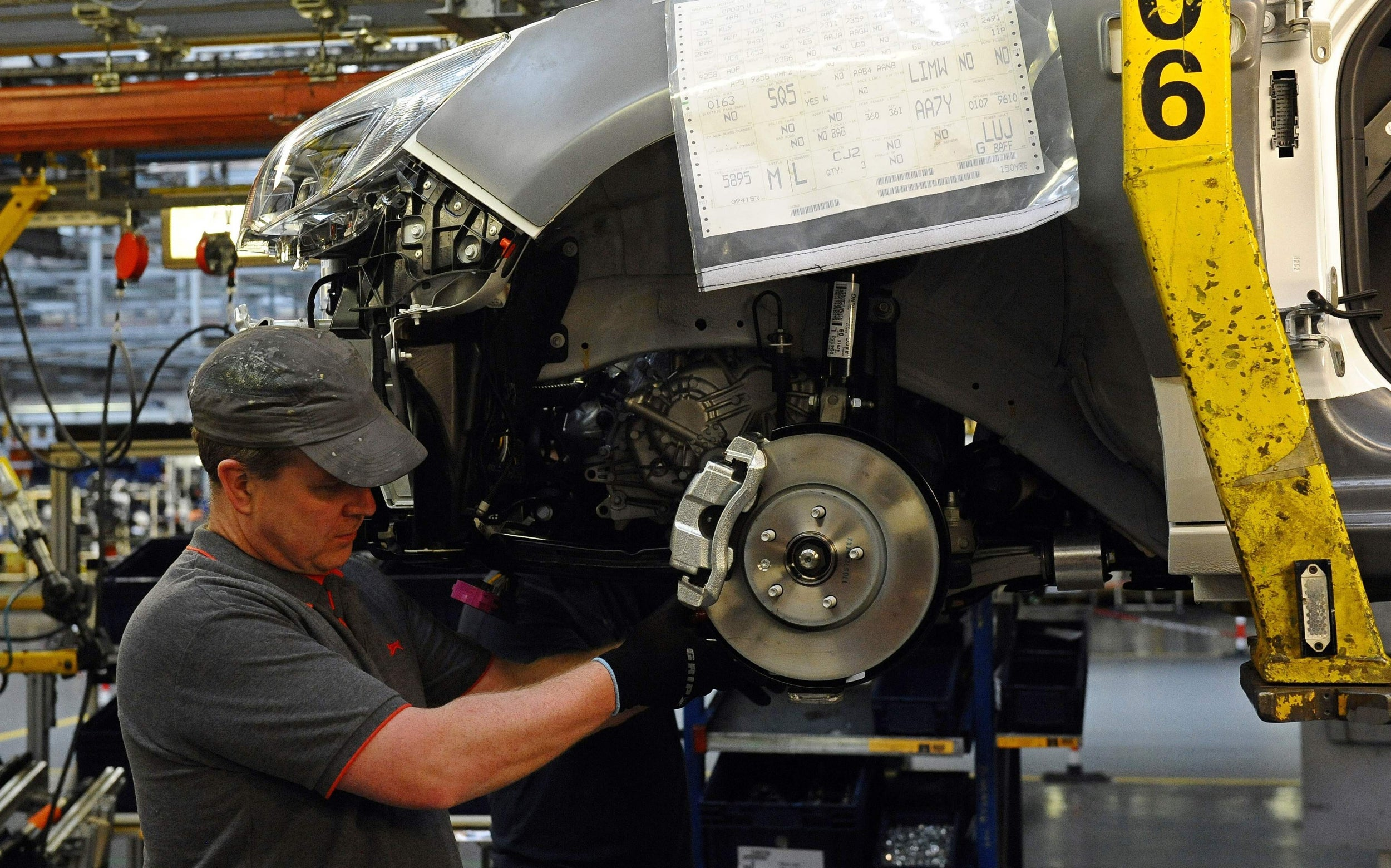 UK car industry posts worst production figures since 1954