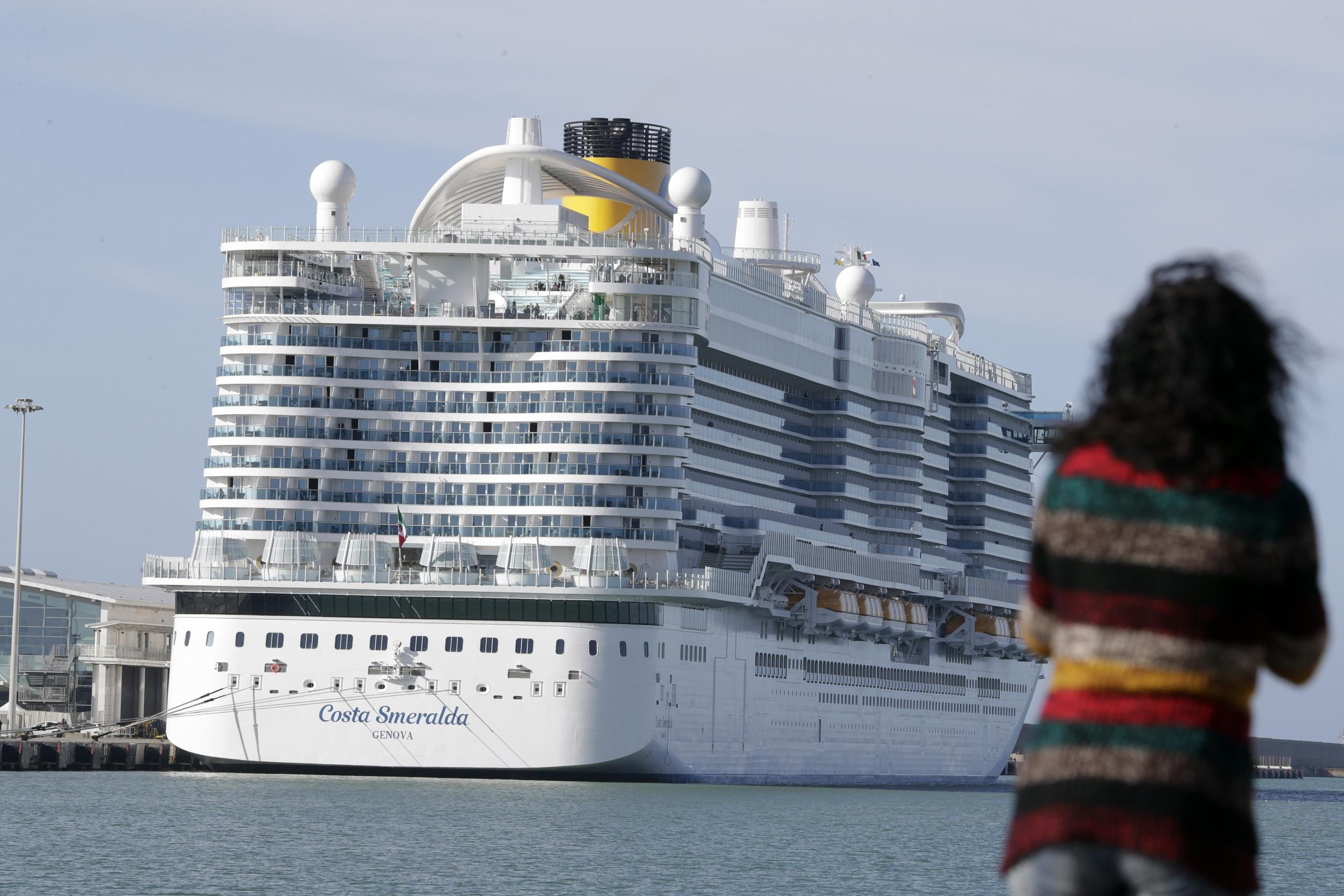 Coronavirus: Thousands of passengers on lockdown onboard cruise ship