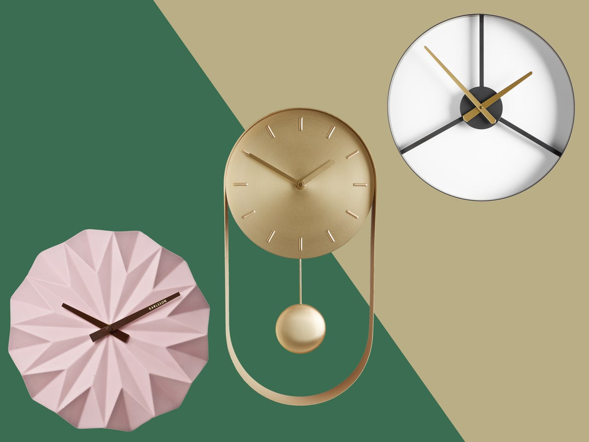 Best Wall Clocks Make A Statement With A Stylish Timepiece The Independent