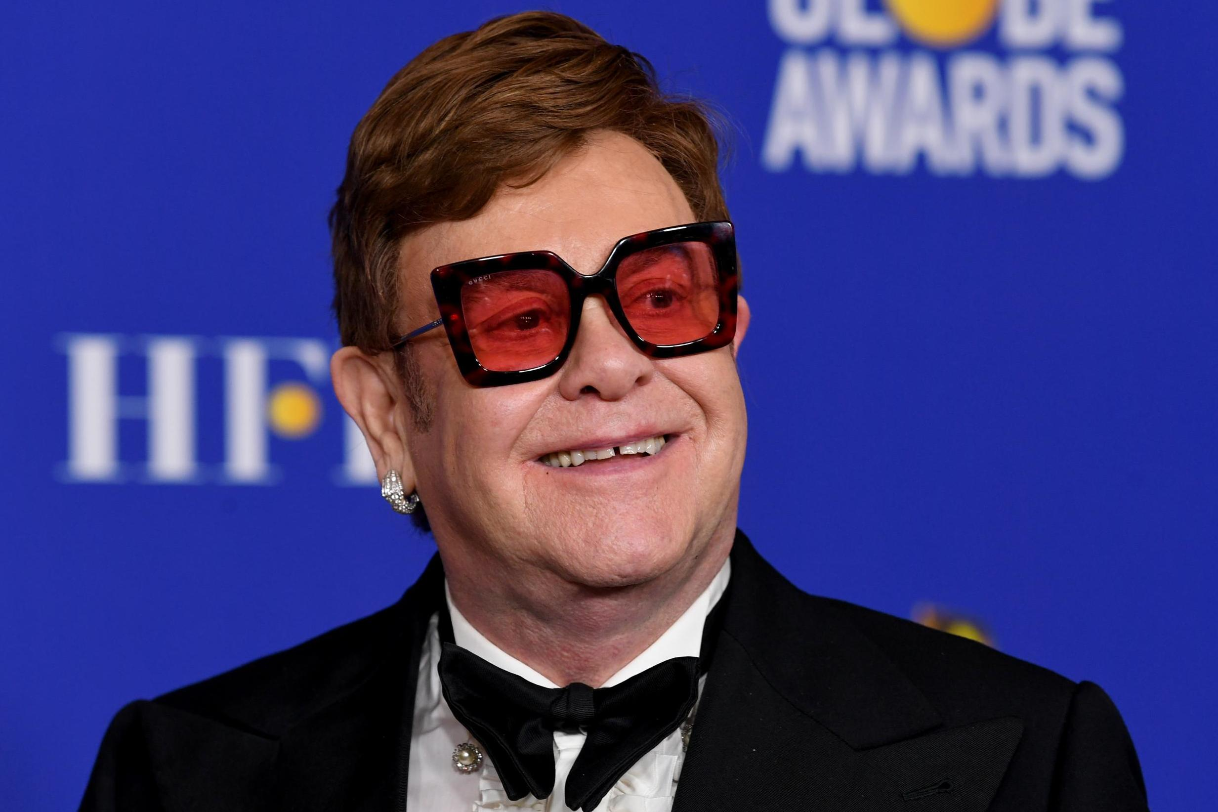 Elton John says it took a 'Herculean effort' to get his cocaine use noticed in 1970s Los Angeles