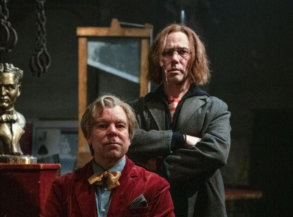 'We can do anything on television for half an hour that we want to do –that's scary': Steve Pemberton (left) and Reece Shearsmith discuss their careers and the new series of 'Inside No 9'