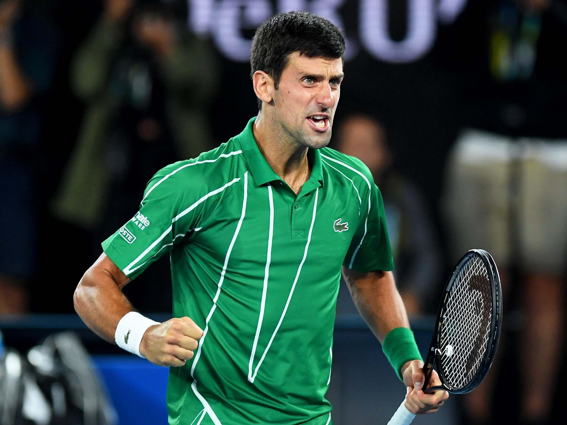 Australian Open 2020: Victorious Novak Djokovic relieved after 'turbulent' battle against Dominic Thiem