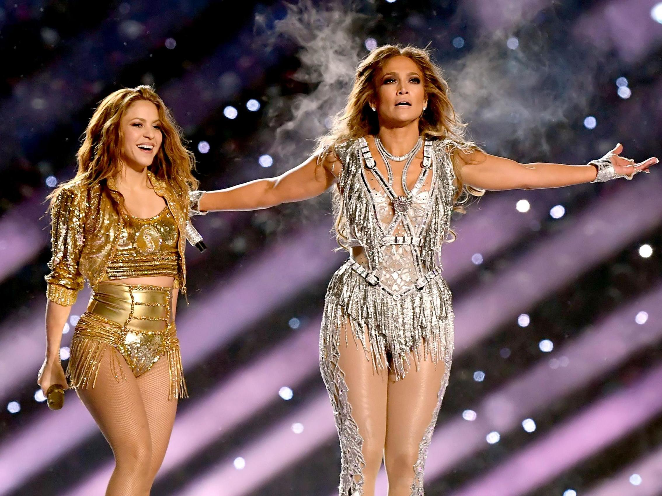 Super Bowl 2020: All Jennifer Lopez and Shakira's outfit changes from their halftime show