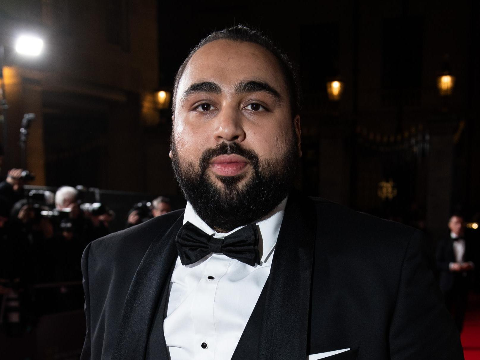Baftas 2020: Chabuddy G actor Asim Chaudhry mocks Laurence Fox over 1917  comments   The Independent   The Independent