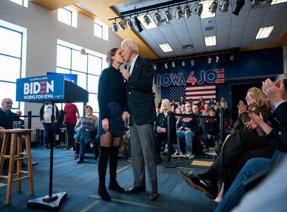 Sean Hannity mocked after calling Joe Biden's kiss with granddaughter 'creepy' (Getty)