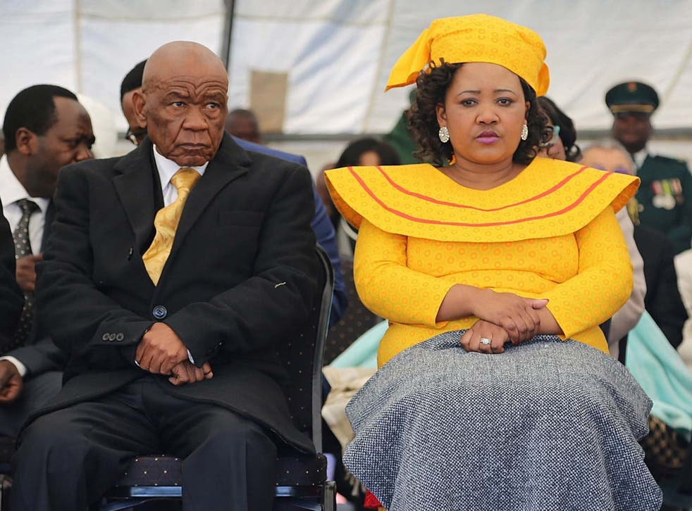 An arrest warrant for the first lady was issued the day she fled the country after she refused to report to police for questioning in connection with the murder of prime minister Thomas Thabane's former wife, Lipolelo