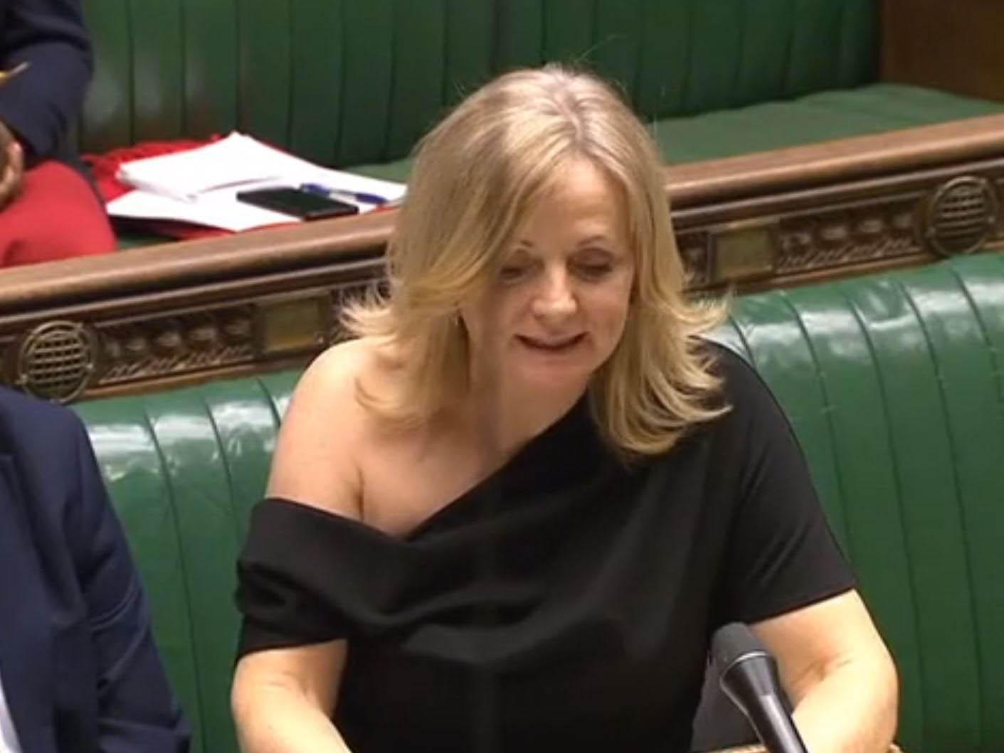 Off-the-shoulder dress 'selling fast' after Labour MP Tracy Brabin called 'slapper' for wearing outfit in parliament