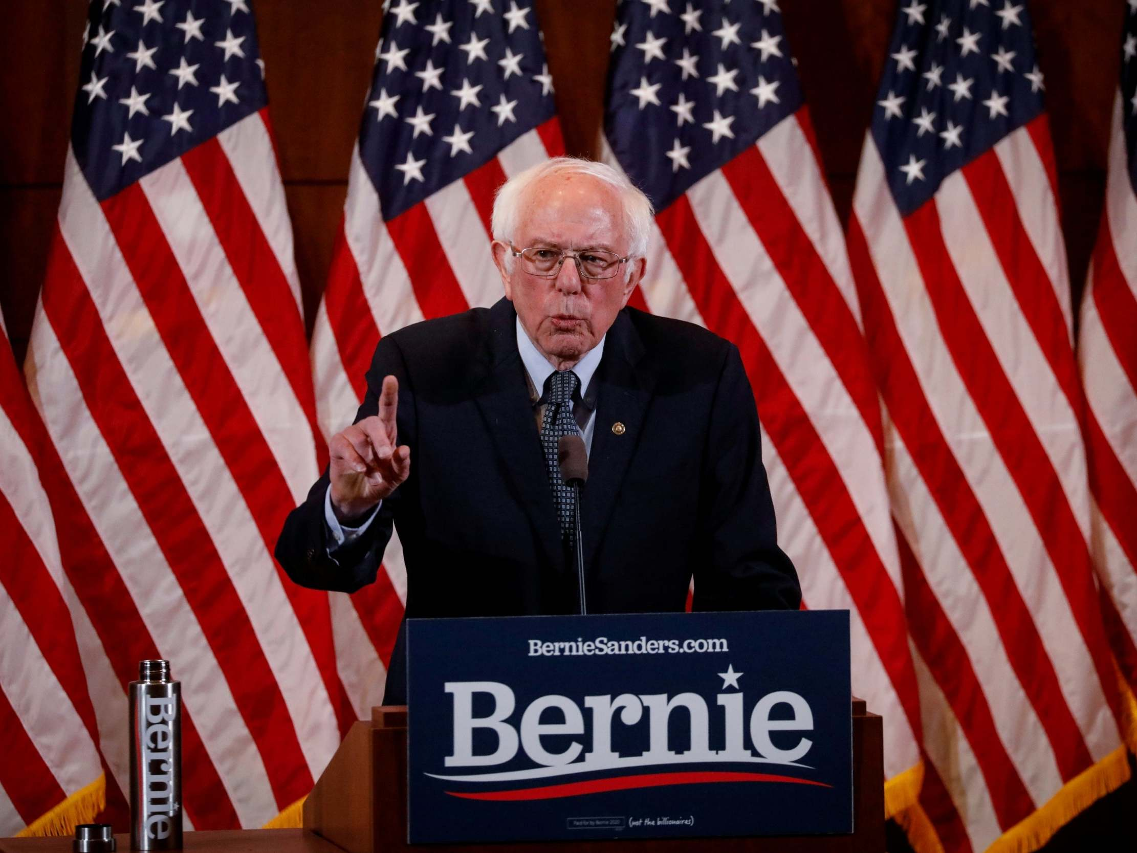 State of the Union: Bernie Sanders says Trump lacked the 'courage' to mention climate change during speech