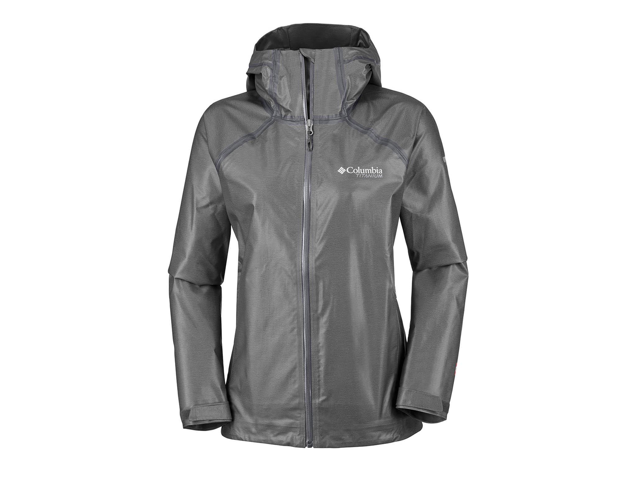 20000 waterproof black women jacket