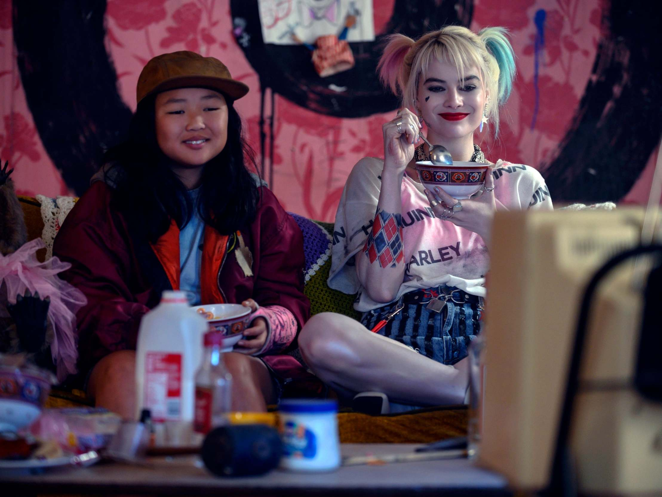 Birds Of Prey Review Its Sequin Encrusted Girliness And Bone Smashing Violence Is Harley Quinn Down To A Tee The Independent The Independent