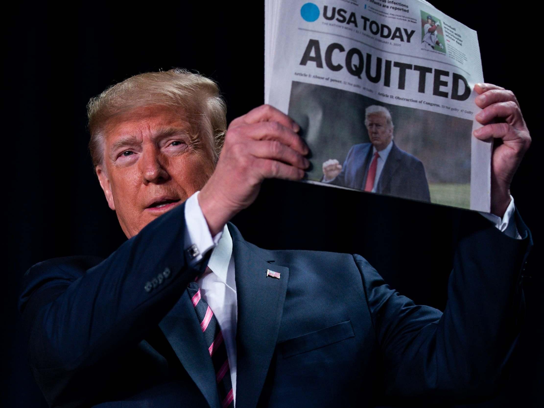Trump News Live Latest Updates As Trump Cheers Impeachment