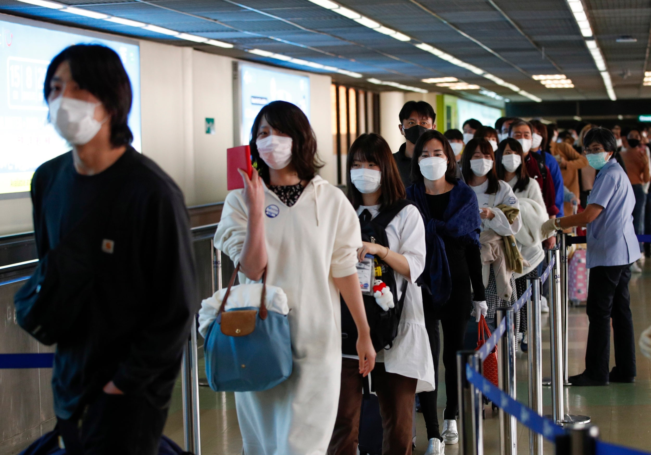 Image result for 49 passengers repatriated to Gatwick on Sunday from Paphos because of a near lockdown to contain the spread of coronavirus