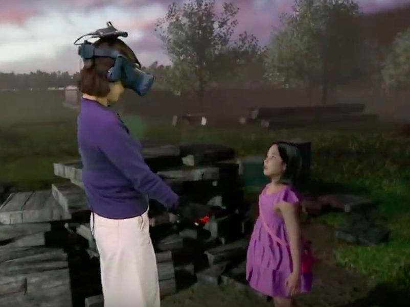 'Maybe it's a real paradise': Mother reunited with dead seven-year-old daughter in virtual reality
