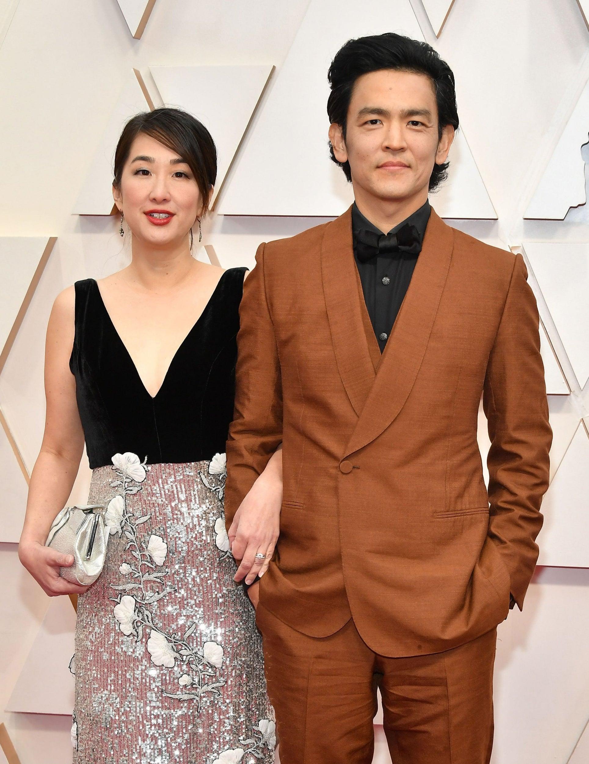 Kerri Higuchi and John Cho