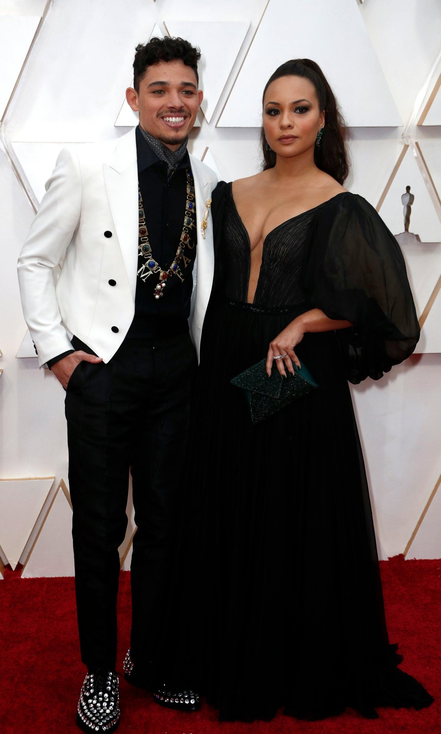 Anthony Ramos and Jasmine Cephas Jones