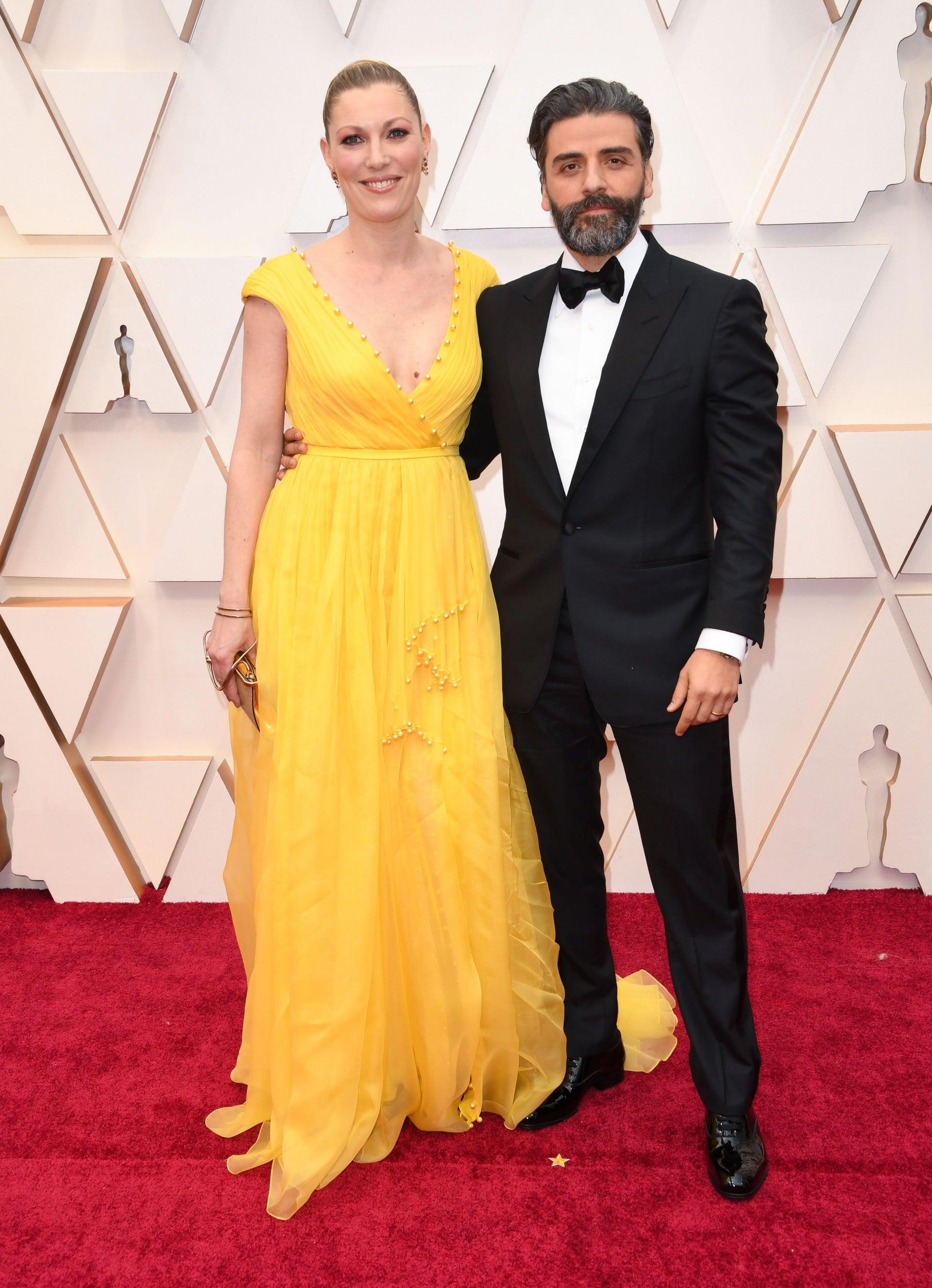 Oscar Isaac and Elvira Lind