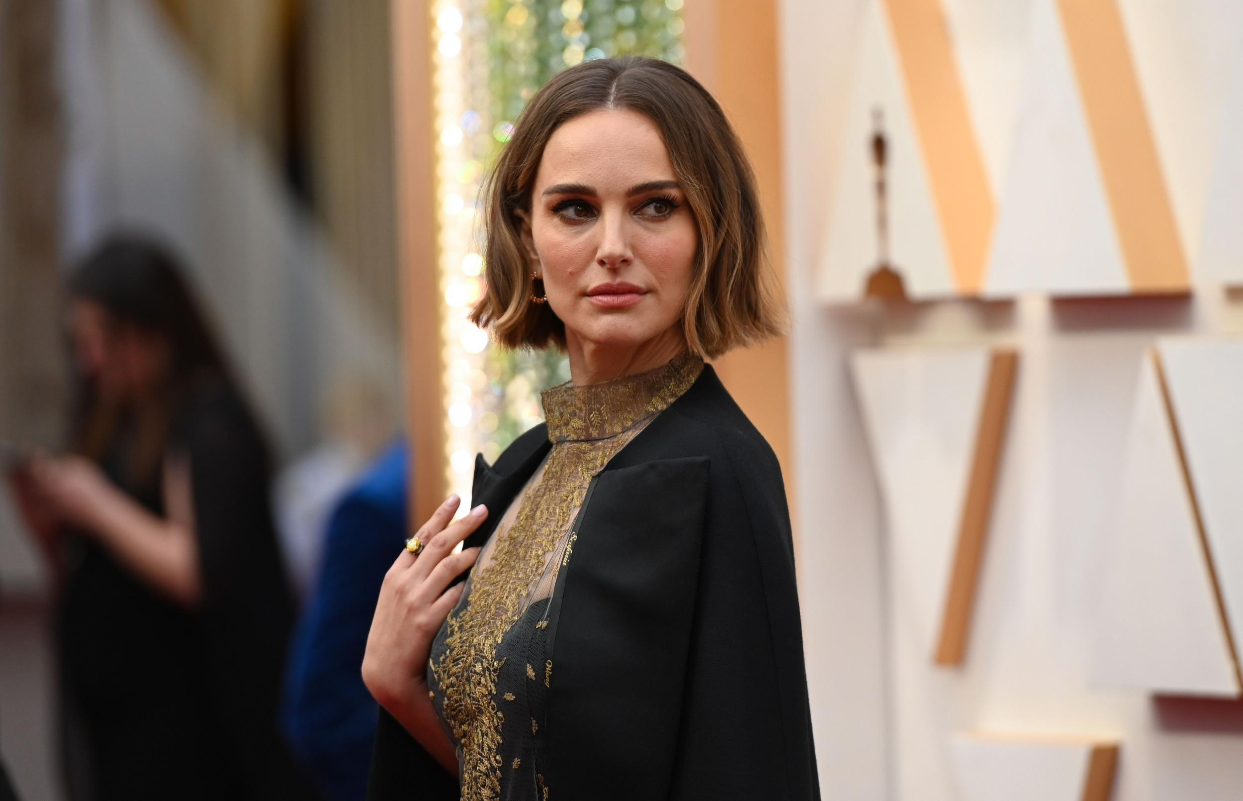 Rose McGowan attacks Natalie Portman's pro-female director Oscars outfit: 'Walk the walk'