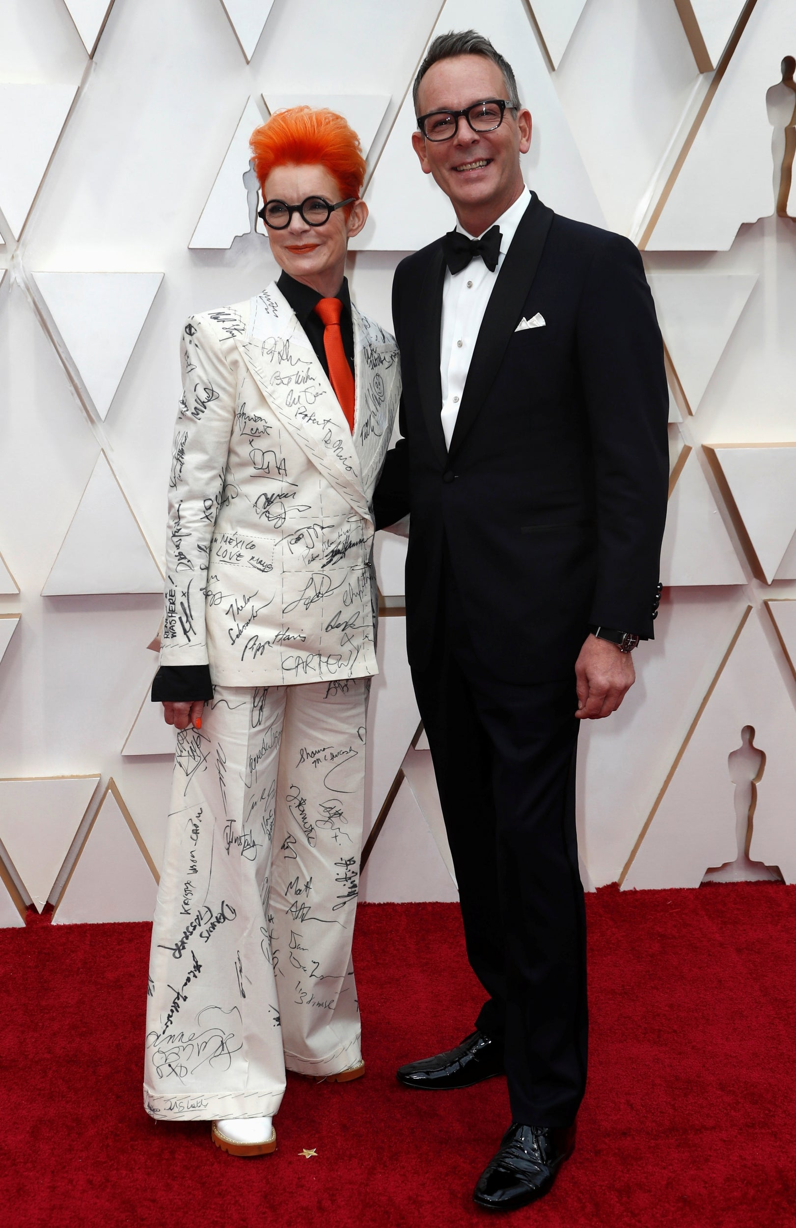 Sandy Powell and Christopher Peterson