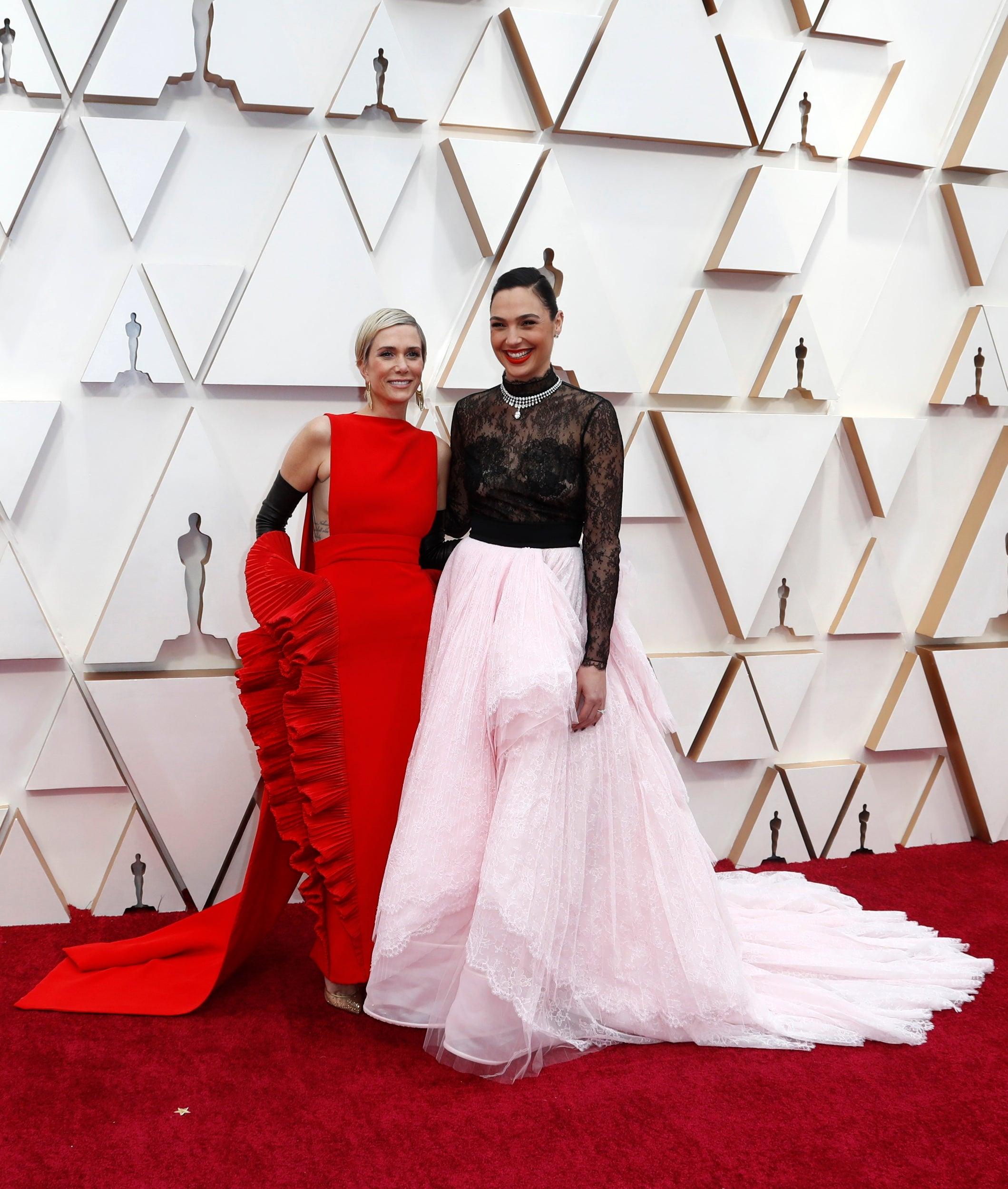 Kristen Wiig and Gal Gadot