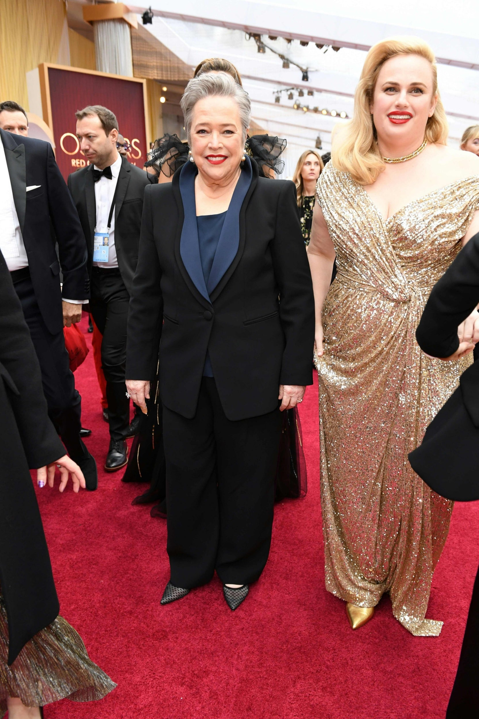 Kathy Bates and Rebel Wilson