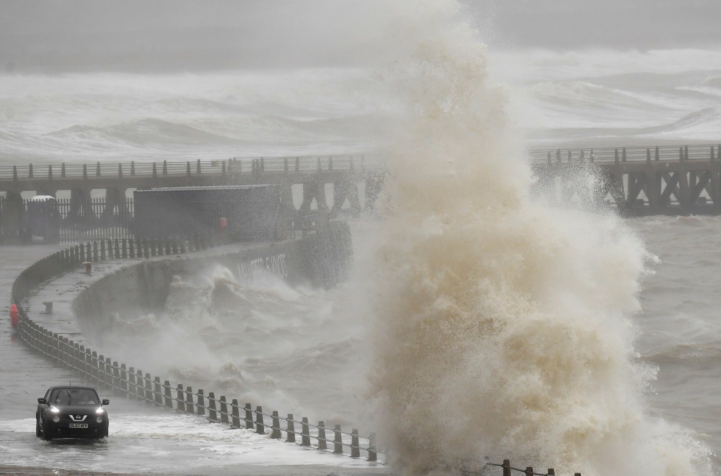 Millions face travel chaos this weekend as Storm Dennis brings high winds