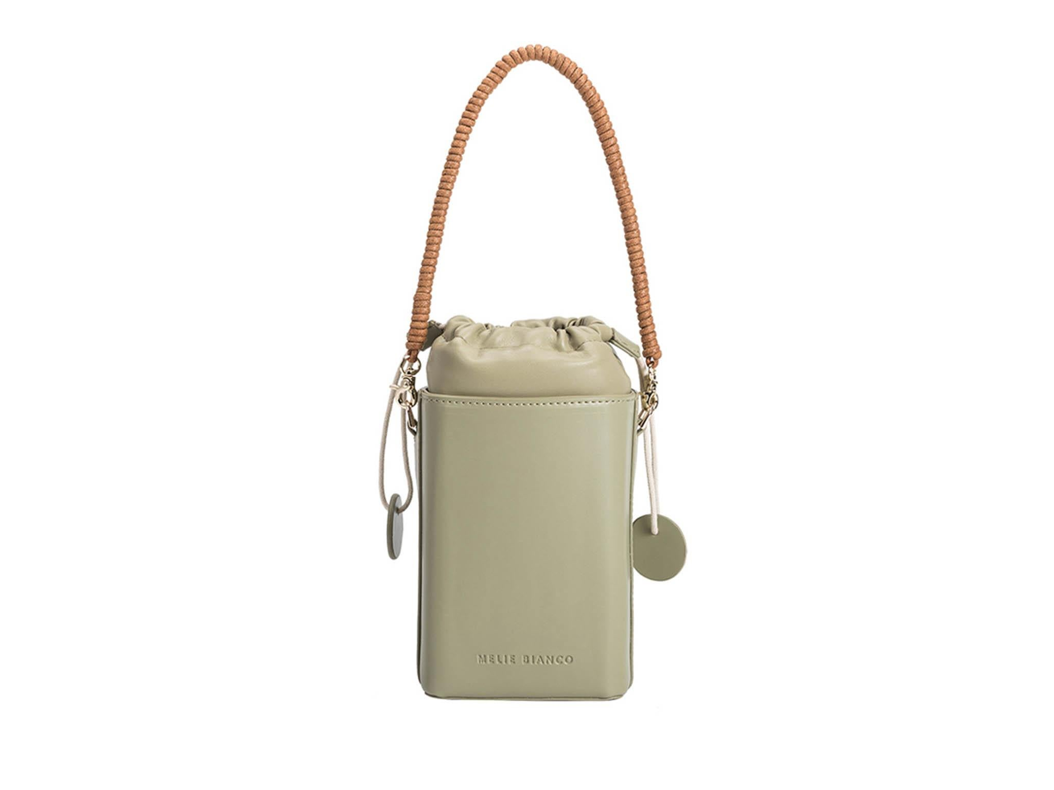 Blush Melie Bianco Stylish Crossbody Strap Shoulder Bags For Women Bucket Design Luxury Vegan Leather