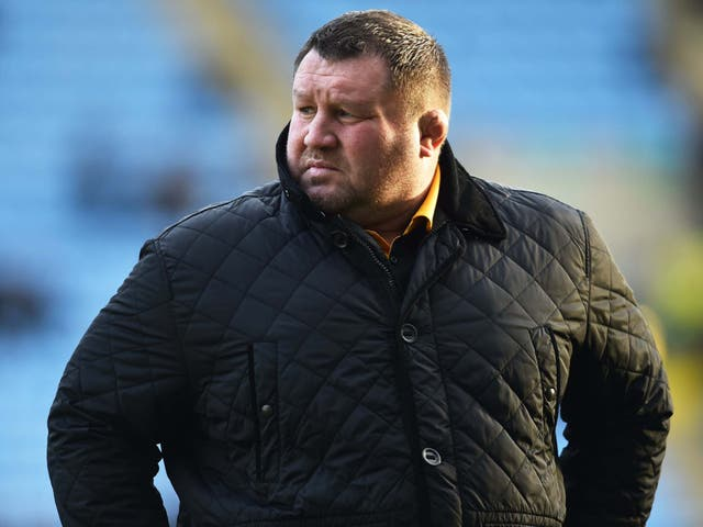 Dai Young has stepped down as Wasps' director of rugby on an interim basis