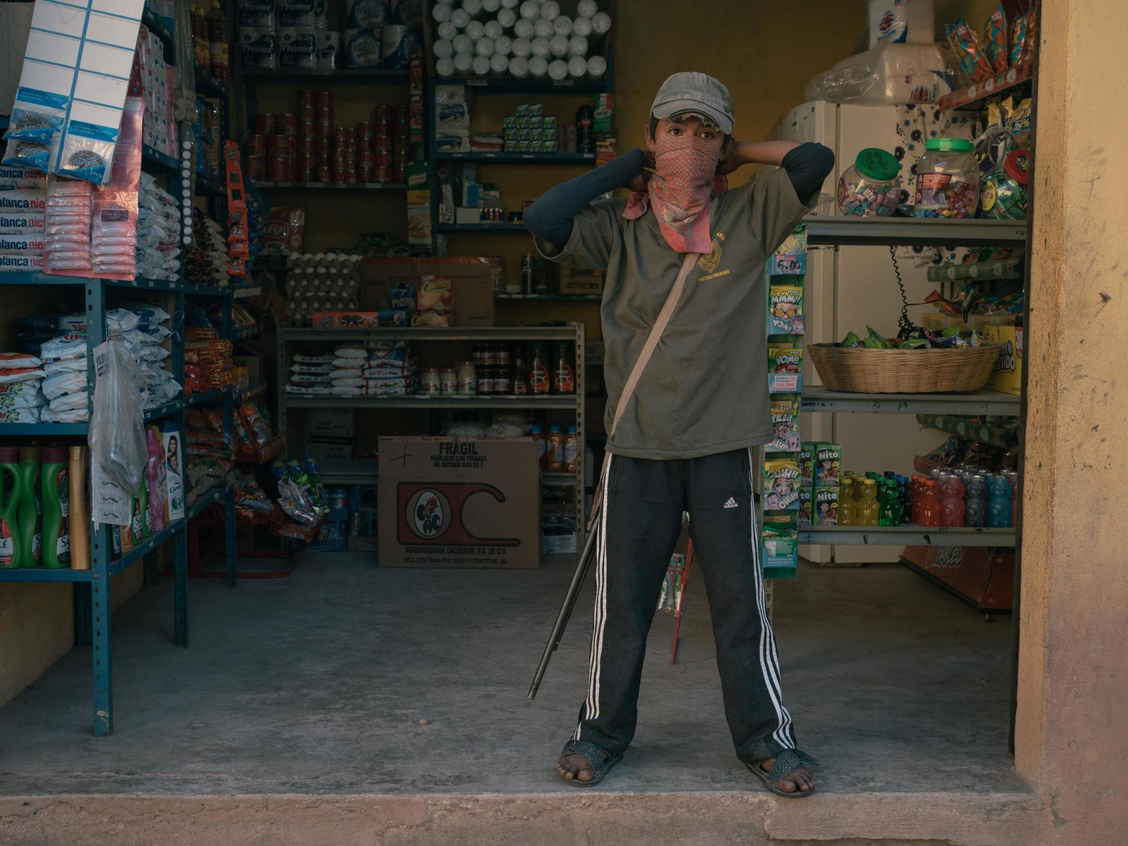 Inside the indigenous Mexican village were child soldiers protect the land