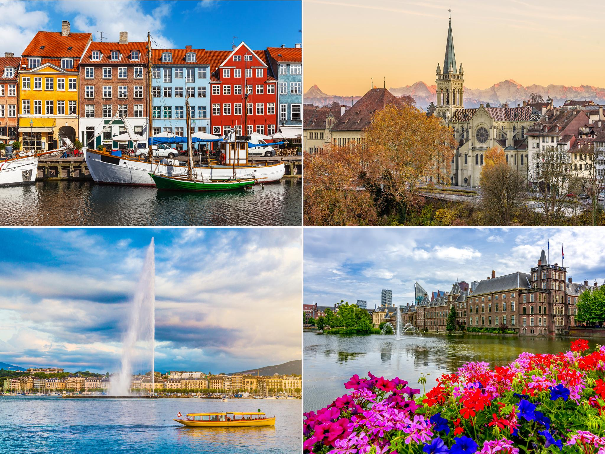 Europe's most liveable cities, according to experts