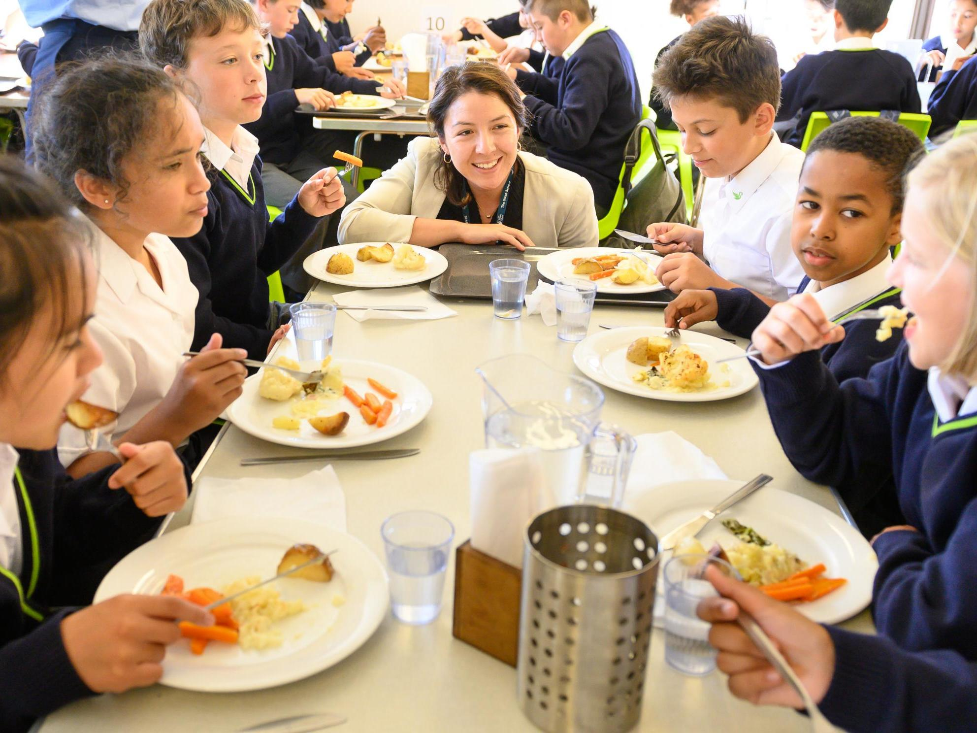 Schools offering vegetarian-only lunches forced to make changes after backlash