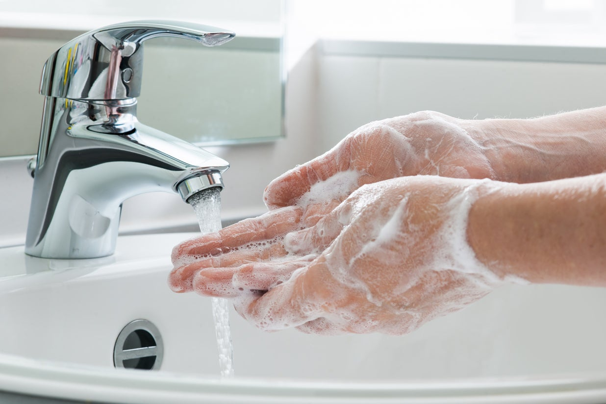Coronavirus: How to wash your hands correctly to limit spread of disease