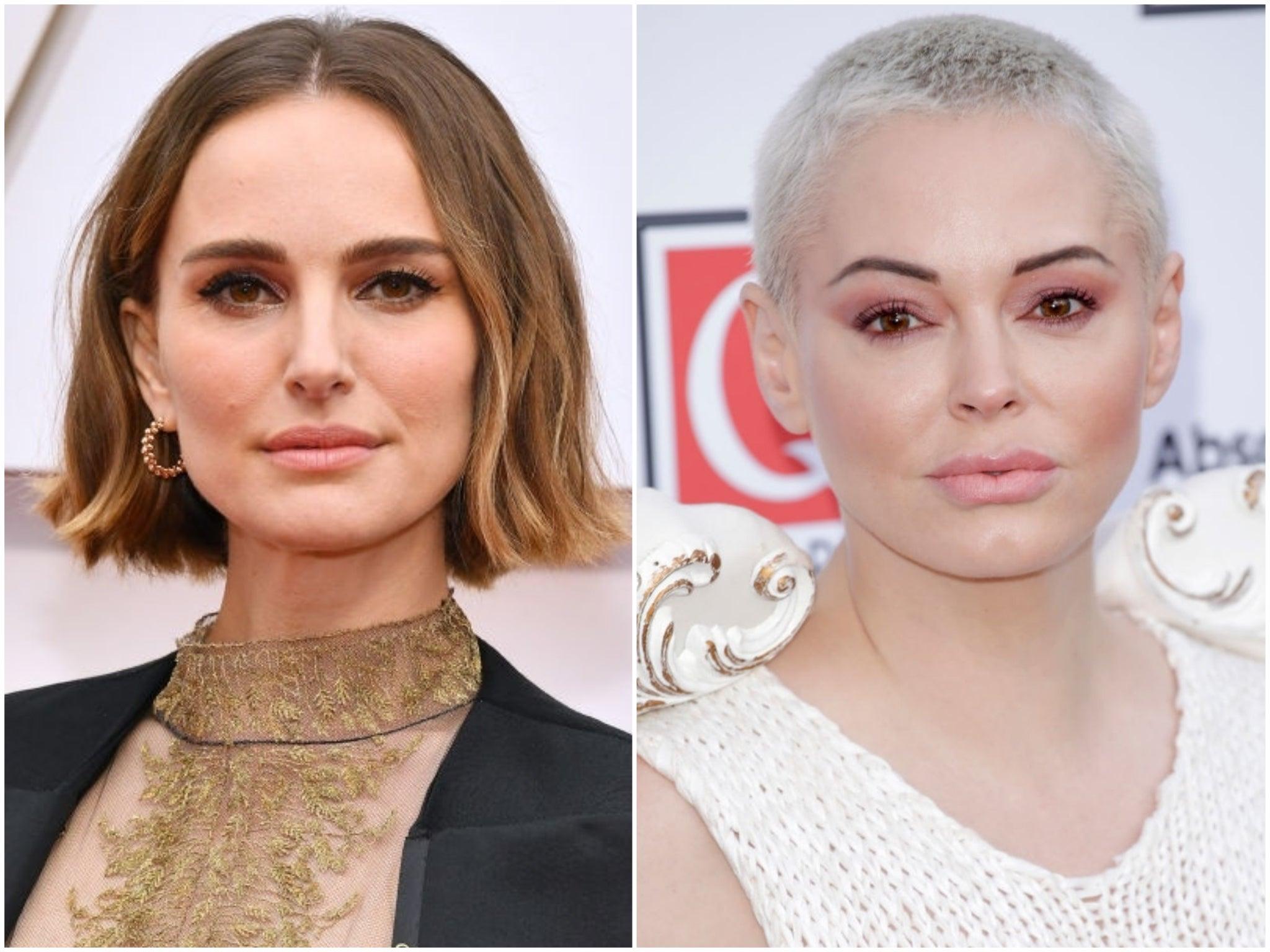 Natalie Portman responds to Rose McGowan's criticism of her feminist Oscars dress