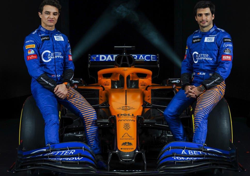 McLaren have unveiled their car for next season