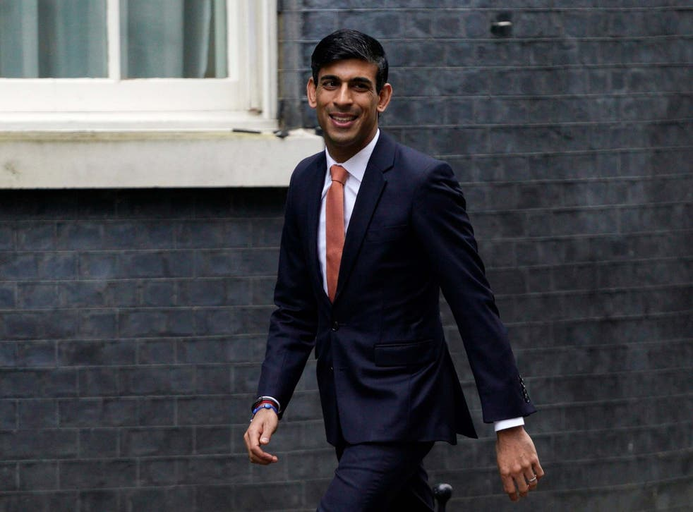 Rishi Sunak, who took over from Sajid Javid as chancellor last month