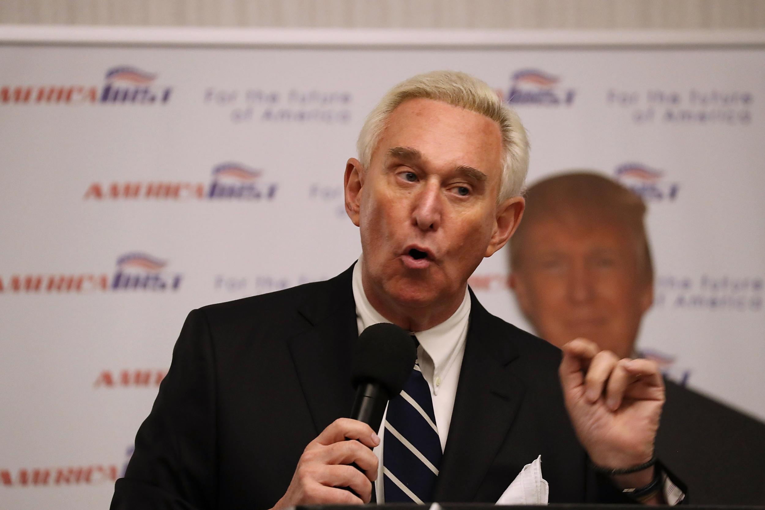 Trump refuses to rule out commuting Roger Stone sentence amid string of controversial pardons - independent