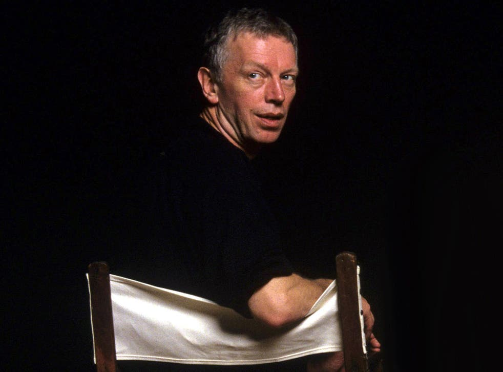Hands in 1996: he was greatly admired in the world of theatre